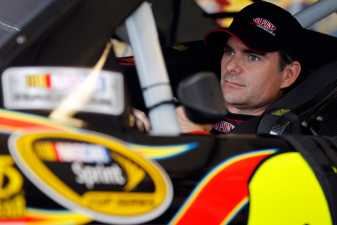 Jeff Gordon in Car - Photo Credit: Chris Graythen/Getty Images