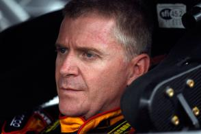 Jeff Burton In Car - Photo Credit: Chris Graythen/Getty Images