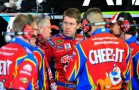 NSCS Carl Edwards and the No. 99 Kelloggs/Cheez-it Ford Fusion Crew - Photo Credit: Jason Smith/Getty Images for NASCAR