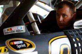 Ryan Newman in Car - Photo Credit: Geoff Burke/Getty Images
