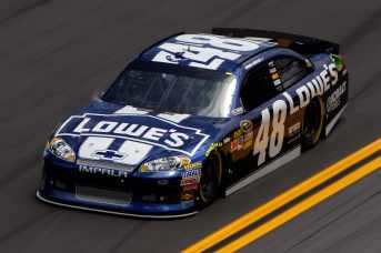 2012 NSCS 48 car - Lowe&#039;s (Jimmie Johnson) - Photo Credit: Chris Graythen/Getty Images for NASCAR