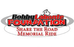 Bobby Labonte Foundation Share the Road Memorial Ride Logo