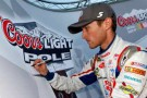 Kasey Kahne Coors Light Pole Award - Photo Credit: Tom Pennington/Getty Images