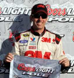 Greg Biffle Takes the Pole-Position - Photo Credit: - Photo Credit: John Harrelson/Getty Images for NASCAR
