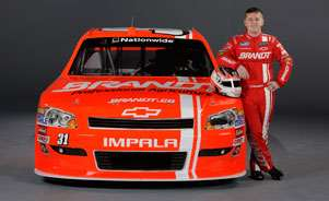 No. 31 BRANDT Chevrolet Ag car, driven by Justin Allgaier