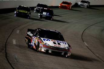 Tony Stewart, driver of the No. 14 Mobil 1/Office Depot Chevrolet, leads the field - Photo Credit: Streeter Lecka/Getty Images for NASCAR