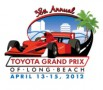 2012 Toyota Grand Prix of Long Beach Logo