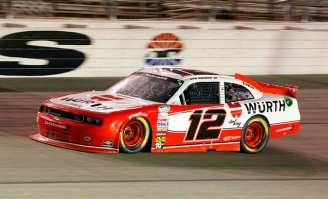NNS No 12 Wurth/Penske Racing Dodge Challenger R/T driven by Sam Hornish Jr.