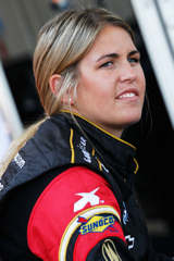 Johanna Long - Photo Credit: Tyler Barrick / Getty Images for NASCAR