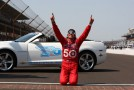 Dario Franchitti at the yard of bricks for the 3rd time-- Photo by: Chris Jones for IMS