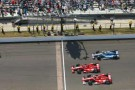 Franchitti Leads Teammate Dixon and KVRT&#039;s Kanaan to the Drop of the 96th Indy 500 Checkered Flag - Photo Credit: Bret Kelley for IMS