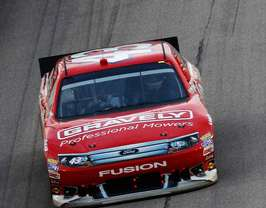 No 43 Gravely Mowers Ford Fusion - Photo Credit: Jeff Zelevansky/Getty Images for NASCAR