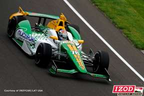 No. 78 Nuclear Clean Air Energy car driver Simona De Silvestro - Photo Courtesy of INDYCAR/LAT USA