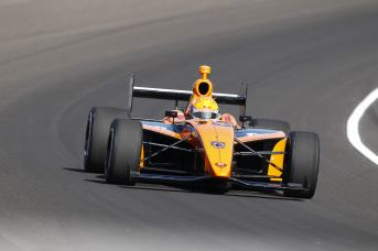 Peter Dempsey on track action - Photo Credit Chris Jones for IMS