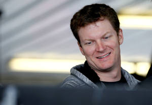 Dale Earnhardt Jr garage - Photo Credit: Jeff Zelevansky/Getty Images for NASCAR