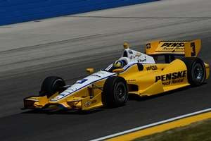 No. 3 Penske Truck Rental Dallara/Chevrolet driven by Helio Castroneves - Photo Credit: Steve Swope for Team Penske