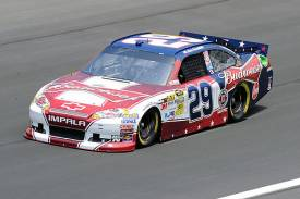 No. 29 Budweiser Folds of Honor Chevrolet Impala SS driven by Kevin Harvick - Richard Childress Racing