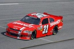 No. 31 BRANDT Chevrolet Impala SS driven by Justin Allgaier