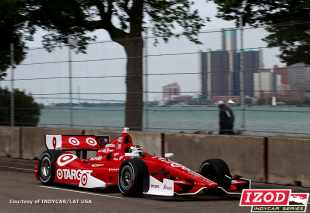 Scott Dixon in the No. 9 Target Chip Ganassi Racing IndyCar - Photo Credit: INDYCAR/LAT USA