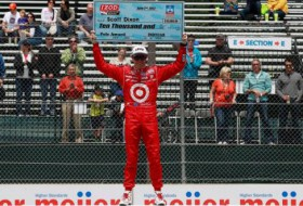 Scott Dixon Belle Isle Pole - Photo Credit: INDYCAR/LAT USA