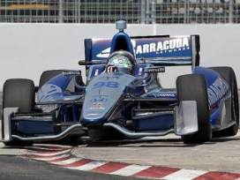 Tagliani at Toronto - Photo Credit: INDYCAR/LAT USA