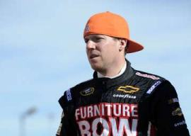 Regan Smith, driver of the No. 78 Furniture Row Chevrolet - Photo Credit: Jared C. Tilton/Getty Images for NASCAR