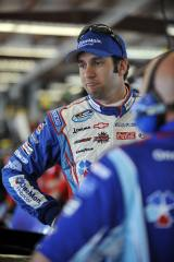 Elliott Sadler, driver of the No. 2 OneMain Financial Chevrolet (Photo by Rainier Ehrhardt/Getty Images for NASCAR)