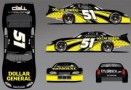 No. 51 Dollar General Toyota Camry