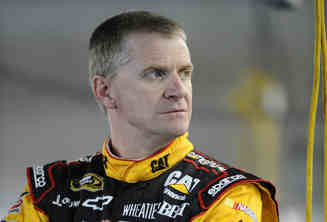 Jeff Burton, driver of the #31 Caterpillar Chevrolet, stands in the garage area - Source: Jared C. Tilton/Getty Images