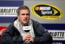 Driver Bobby Labonte speaks to the media during NASCAR Testing at Charlotte Motor Speedway at Charlotte Motor Speedway on January 17, 2013 in Charlotte, North Carolina. - Photo Credit: Streeter Lecka/Getty Images