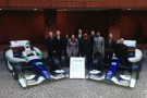 KV Racing Technology 2013 Racing Teams with Drivers Simona De Silvestro and Tony Kanaan