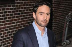 Jimmie Johnson visits 'The Late Show with David Letterman' in New York City. - Photo Credit: PacificCoastNews.com