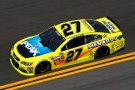 No 27 Peak/ Menards Chevrolet SS (Paul Menard) on Track - Photo Credit: Chris Graythen/Getty Images