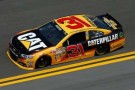 No 31 Caterpillar Chevrolet SS (Jeff Burton) on Track - Photo Credit: Chris Graythen/Getty Images