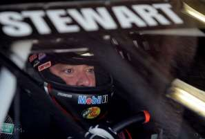 Tony Stewart in Car - Photo Credit: Jerry Markland/Getty Images
