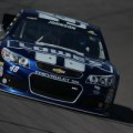 No 48 Lowes Chevy SS on Track - Photo Credit: Justin Edmonds/Getty Images