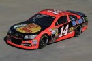 No. 14 Bass Pro Shops/Mobil 1 Chevrolet SS fielded by Stewart-Haas Racing for three-time NASCAR Sprint Cup Series champion Tony Stewart, which features an updated paint scheme that debuts this weekend at Kansas Speedway in Kansas City, Kan. (Photo Credit: CIA Stock Photography for True Speed Communication)