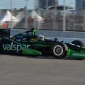 The last time Servia drove the black and green No. 22 Valspar Panther DRR Chevrolet, he finished 5th (Toronto, 2012).