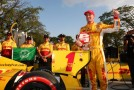 2013 IICS Driver Ryan Hunter-Reay Wins the Verizon P1 Award in Sao Paulo - Photo Credit: Chris Jones for INDYCAR