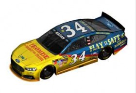 "2013 NSCS No. 34 CSX ""Play it Safe"" Ford Fusion - Front Row Motorsports"