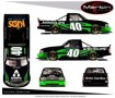 No. 40 Arthritis Foundation Chevrolet Silverado Layout