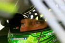 Kyle Busch, driver of the #18 Doublemint Toyota, sits in his car in the garage area during practice for the NASCAR Sprint Cup Series IRWIN Tools Night Race at Bristol Motor Speedway on August 23, 2013 in Bristol, Tennessee. - Photo Credit: Sean Gardner/Getty Images