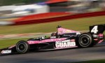 "IICS No 4 National Guard ""Pink Camo"" Panther Racing Chevrolet - Photo Credit: INDYCAR/LAT USA"