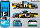 No. 77 NET10 Wireless / OtterBox Toyota Tundra Layout