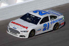 2014 NSCS Driver Trevor Bayne on track at Daytona for Preseason Thunder in the No. 21 Motorcraft/Quick Lane Ford Fusion