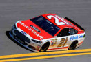 2014 NSCS Driver Trevor Bayne on track in the No. 21 Motorcraft Quik Lane Ford - Photo Credit: Robert Laberge/Getty Images