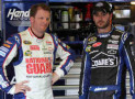 Dale Earnhardt Jr & Jimmie Johnson - Photo Credit: Jerry Markland/Getty Images