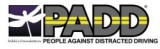 People Against Distracted Driving® Logo
