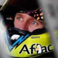 Carl Edwards, driver of the #99 Aflac Ford, sits in his car during practice for the NASCAR Sprint Cup Series Kobalt 400 at Las Vegas Motor Speedway on March 7, 2014 in Las Vegas, Nevada. - Photo Credit: Jonathan Ferrey/Getty Images