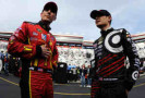 2014 NSCS Chip Ganassi Racing Drivers Jamie McMurray and Kyle Larson - Photo Credit: Jared C. Tilton/Getty Images